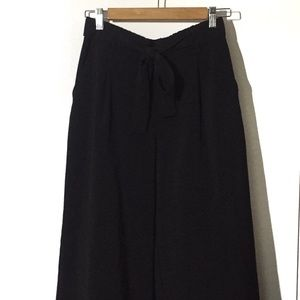 ZARA Wrap-style High-waisted Trouser Pants Size M